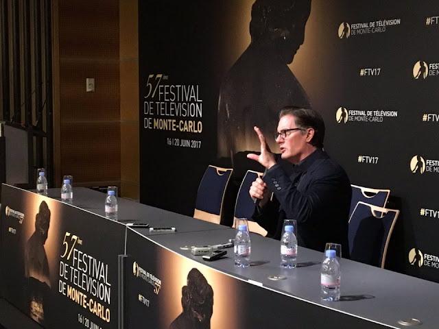 "TWIN PEAKS   Twin Peaks è ""Arte in movimento"" racconta Kyle MacLachlan al 57° Festival di Montecarlo"