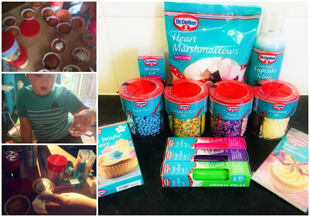 Half Term Baking with The Kids and DR.Oetker