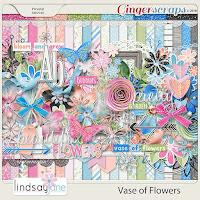 Kit : Vase of Flowers by Lindsay Jane