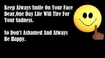 Always Keep Smiling Status