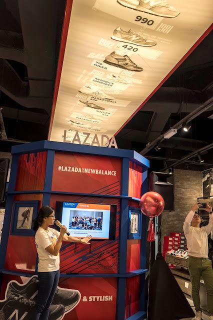 Lazada X New Balance