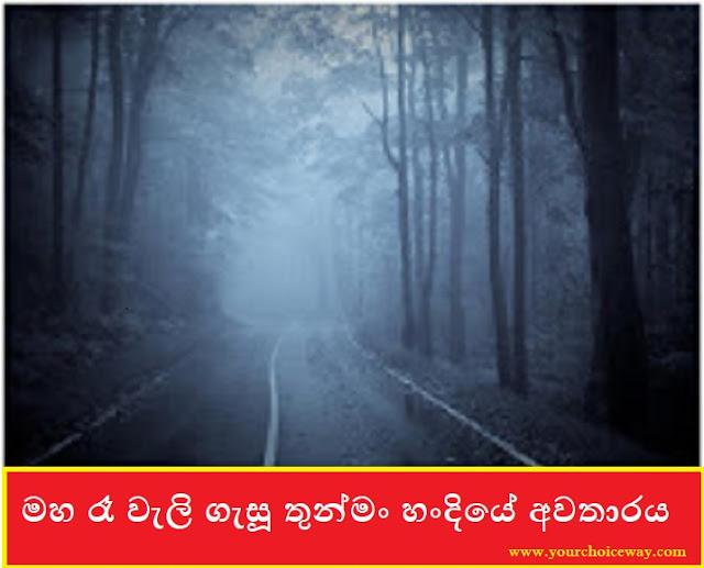 මහ රෑ වැලි ගැසූ තුන්මං හංදියේ අවතාරය (Anuradapura Case) - Your Choice Way
