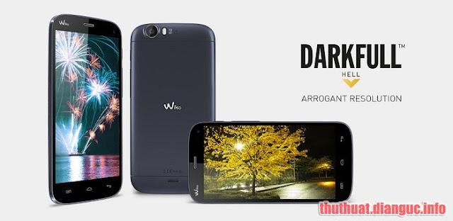 Rom stock cho Wiko DarkFull