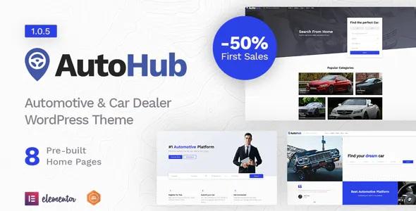 Best Automotive and Car Dealer Theme