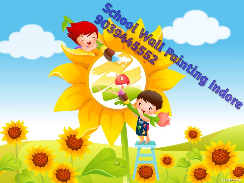 PLAY SCHOOL WALL PAINTING,3D CARTOON PAINTING,SCHOOL PAINTING ...