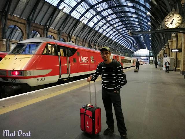 Train London ke Edinburgh