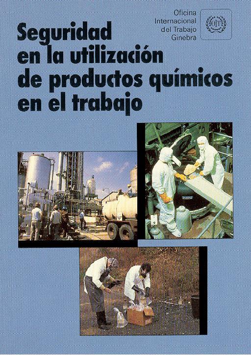Seguridad en la utilización de productos químicos en el trabajo