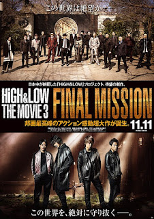 Sinopsis, Pemain, Trailer High & Low The Movie 3 Final Mission (2017)