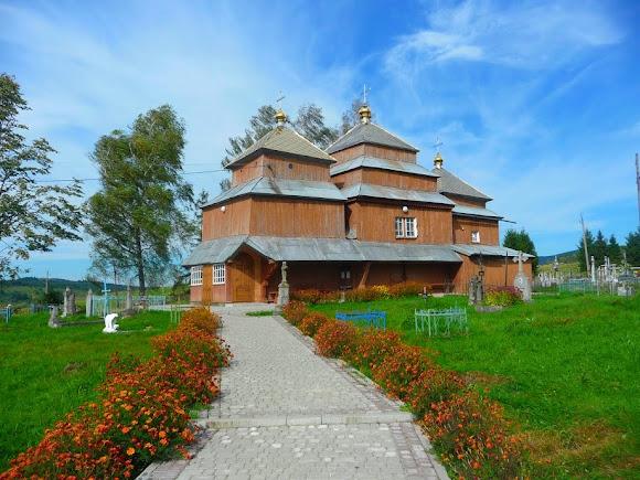 Турка. Церква Успіння Пр. Богородиці. УАПЦ