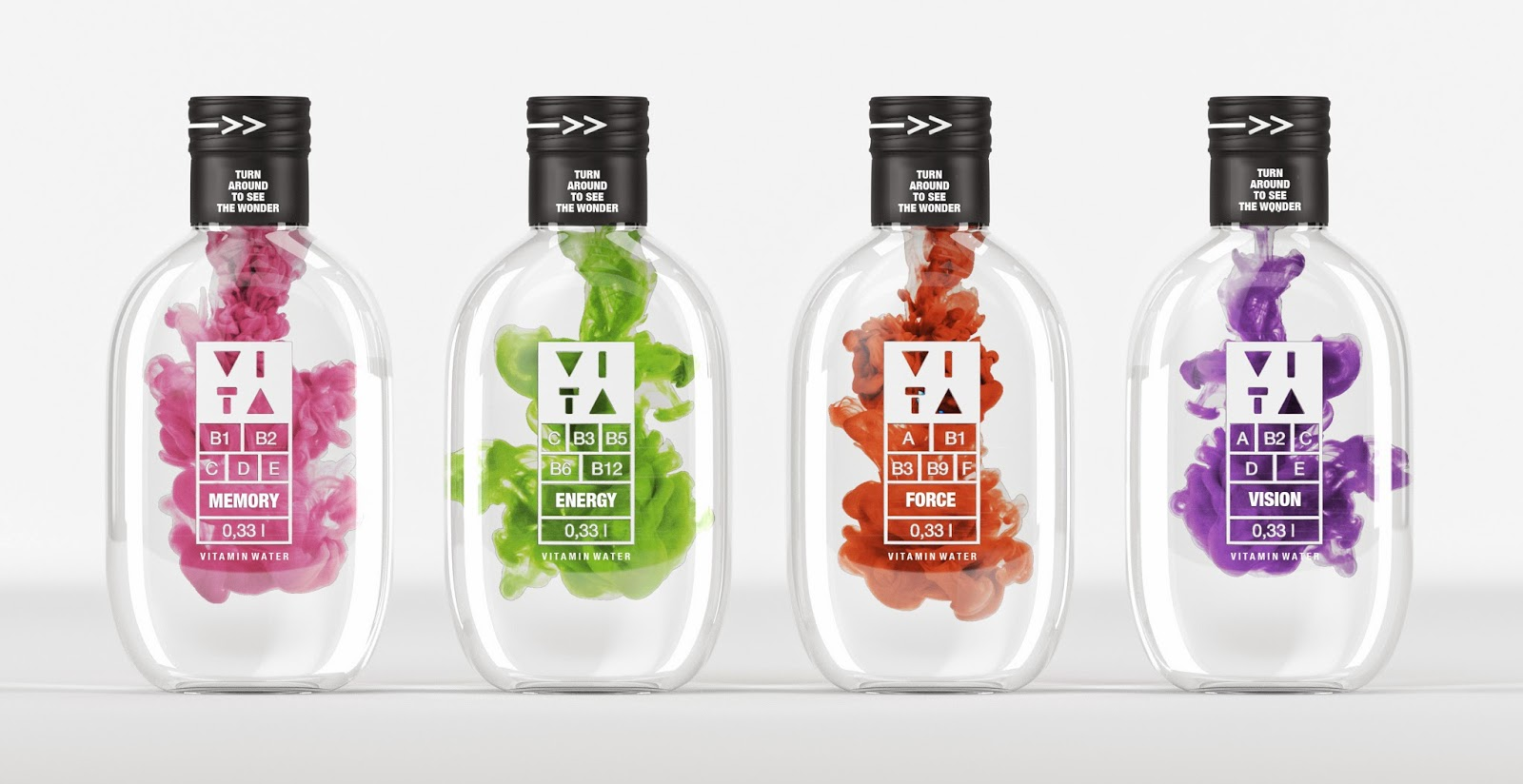 VITA Vitamin Water Student Project On Packaging Of The