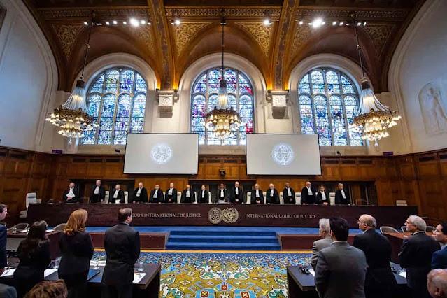 محكمة العدل الدولية في مدينة لاهاي