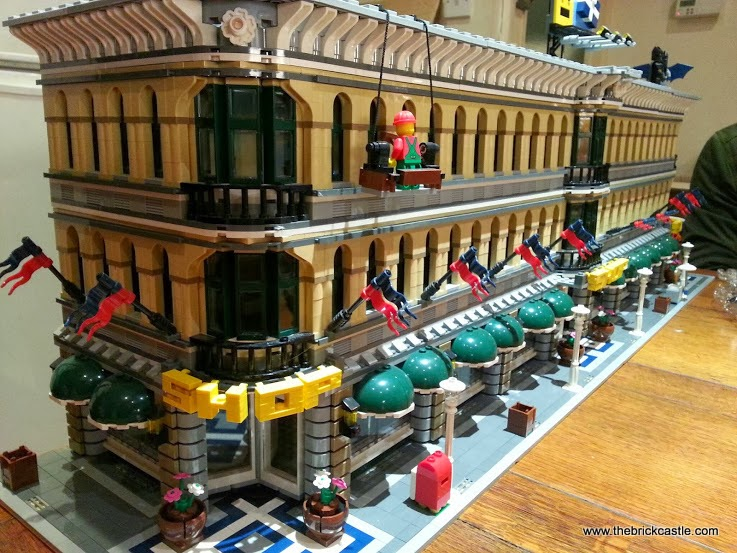 Grand Emporium set 10211 Modified Adapted LEGO