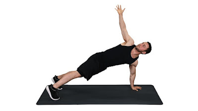 Cara Membentuk Perut Sixpack dengan Latihan Push Up Dengan Rotasi