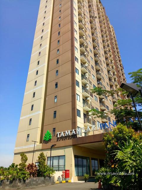 staycation di apartemen tamansari panoramic bandung