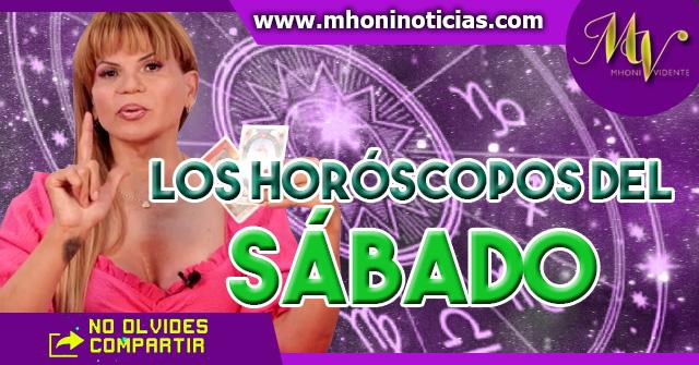 Los horóscopos del SÁBADO 27 de Marzo del 2021 - Mhoni Vidente