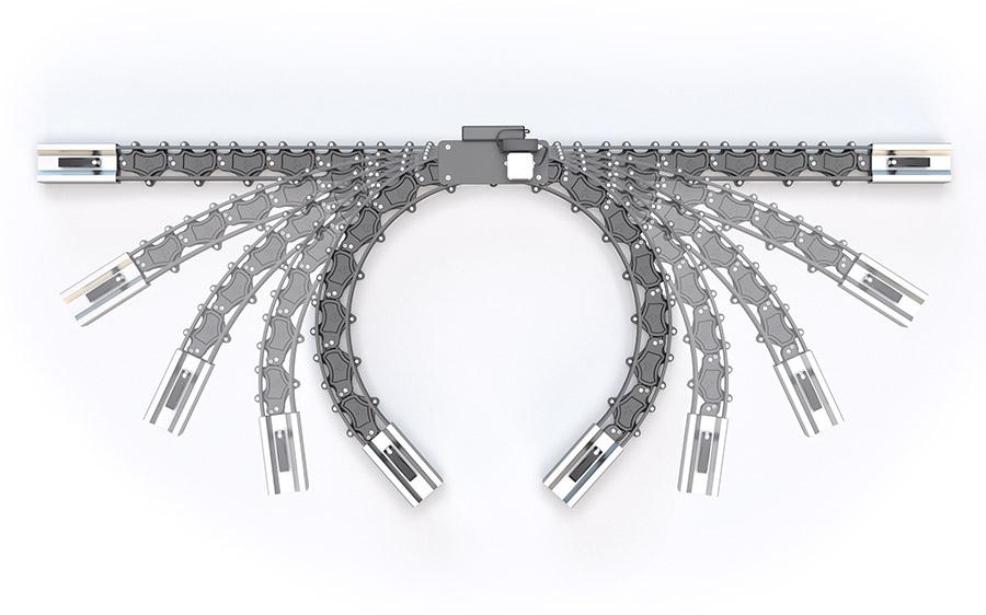 Multi Slider позволяет изгибать рельсы для слайдера