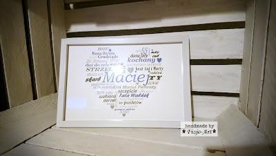 Metryczka serce – Maciej