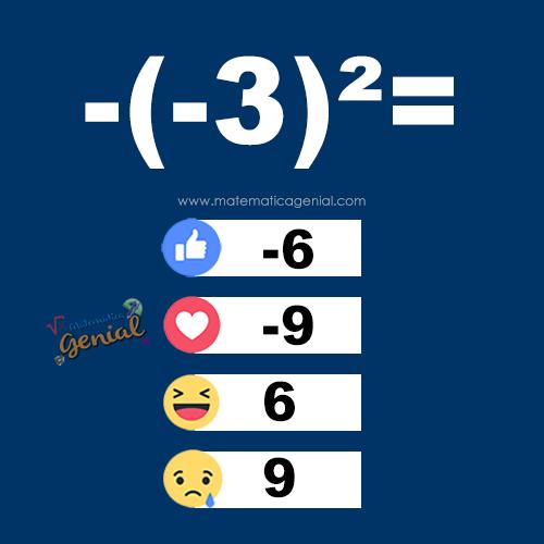 -(-3)² = ?