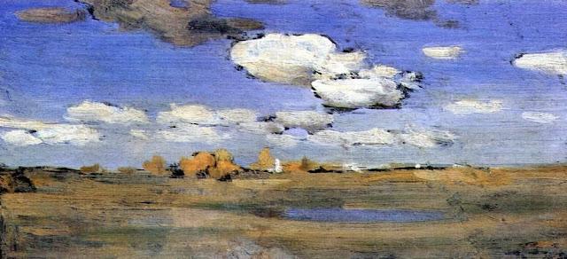 Исаак Ильич Левитан - Ясный осенний день. 1898-1899