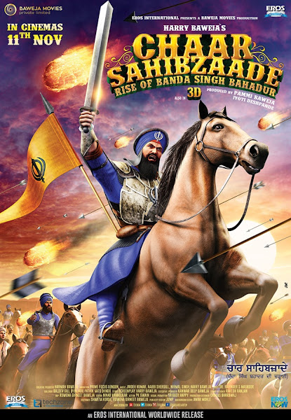 Poster of Chaar Sahibzaade 2 (2016) Punjabi 720p HDRip ESubs Full Movie Download