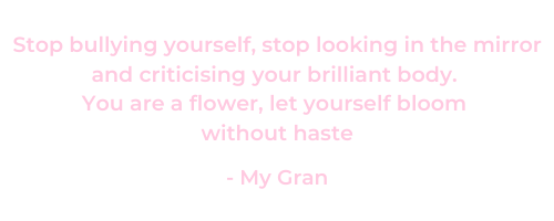 Body Confidence Quote - Self love quote