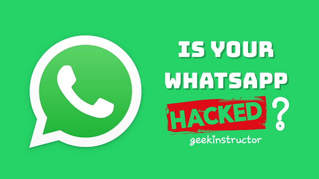 Check if WhatsApp account is hacked