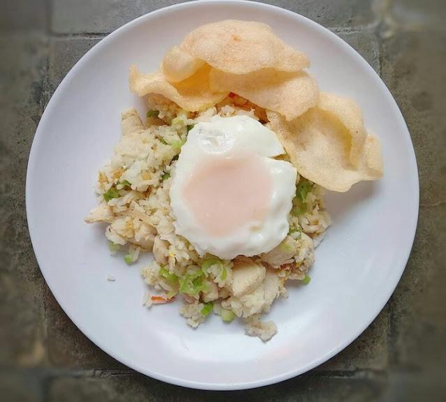 Resep nasi goreng putih kampung