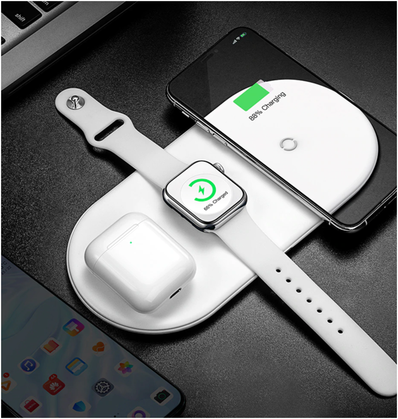 Baseus launches Smart Three-in-One Wireless Charger