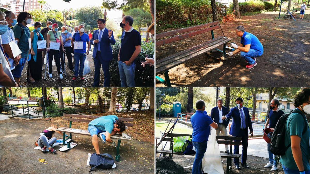 Riqualificazione Parco Falcone volontari