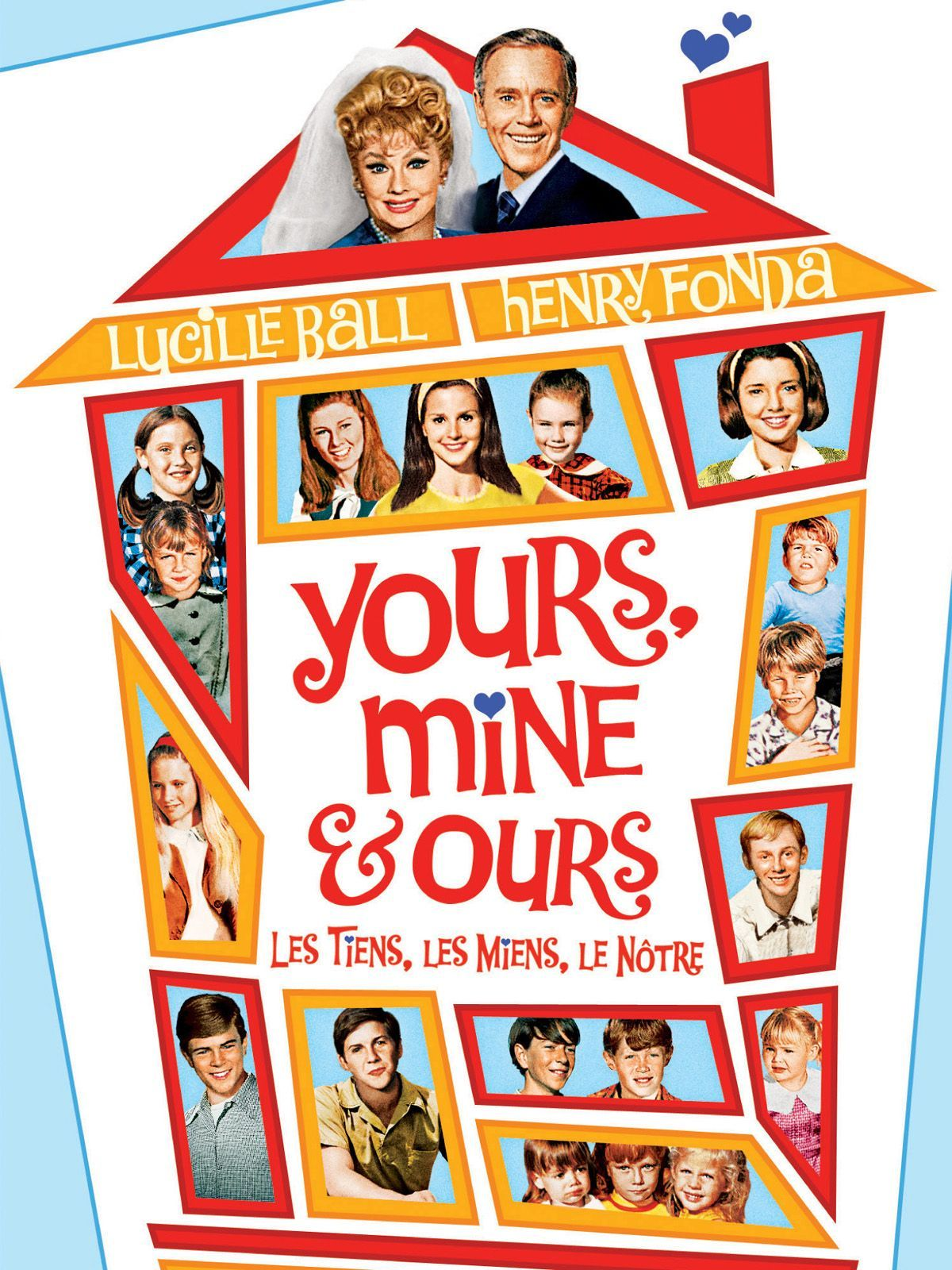 Yours, Mine and Ours [1968] [DVDR] [NTSC] [Latino]