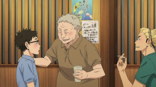 ハイキュー!! アニメ 2期10話 猫又監督 | HAIKYU!! 梟谷学園グループ 合同合宿