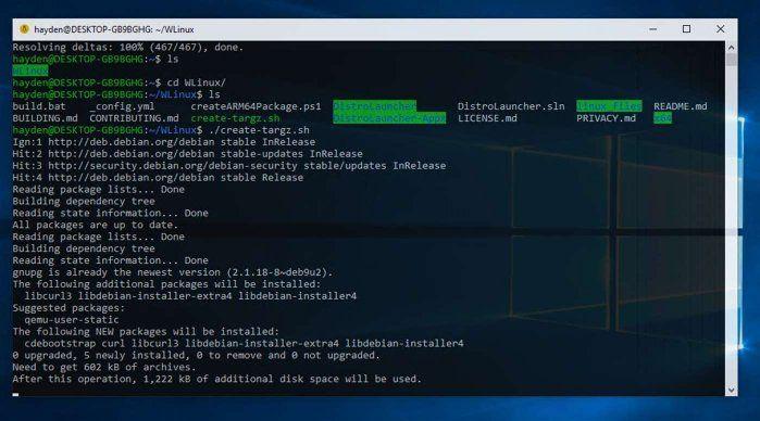 WLinux, la nueva distribución creada exclusivamente para Windows 10 - El Blog de HiiARA