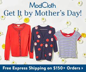 Shop Mother's Day gifts from Modcloth