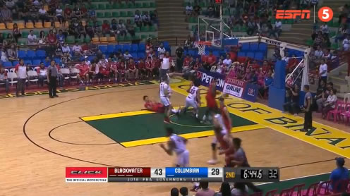 Video Playlist: Blackwater vs Columbian game replay 2018 PBA Governors' Cup