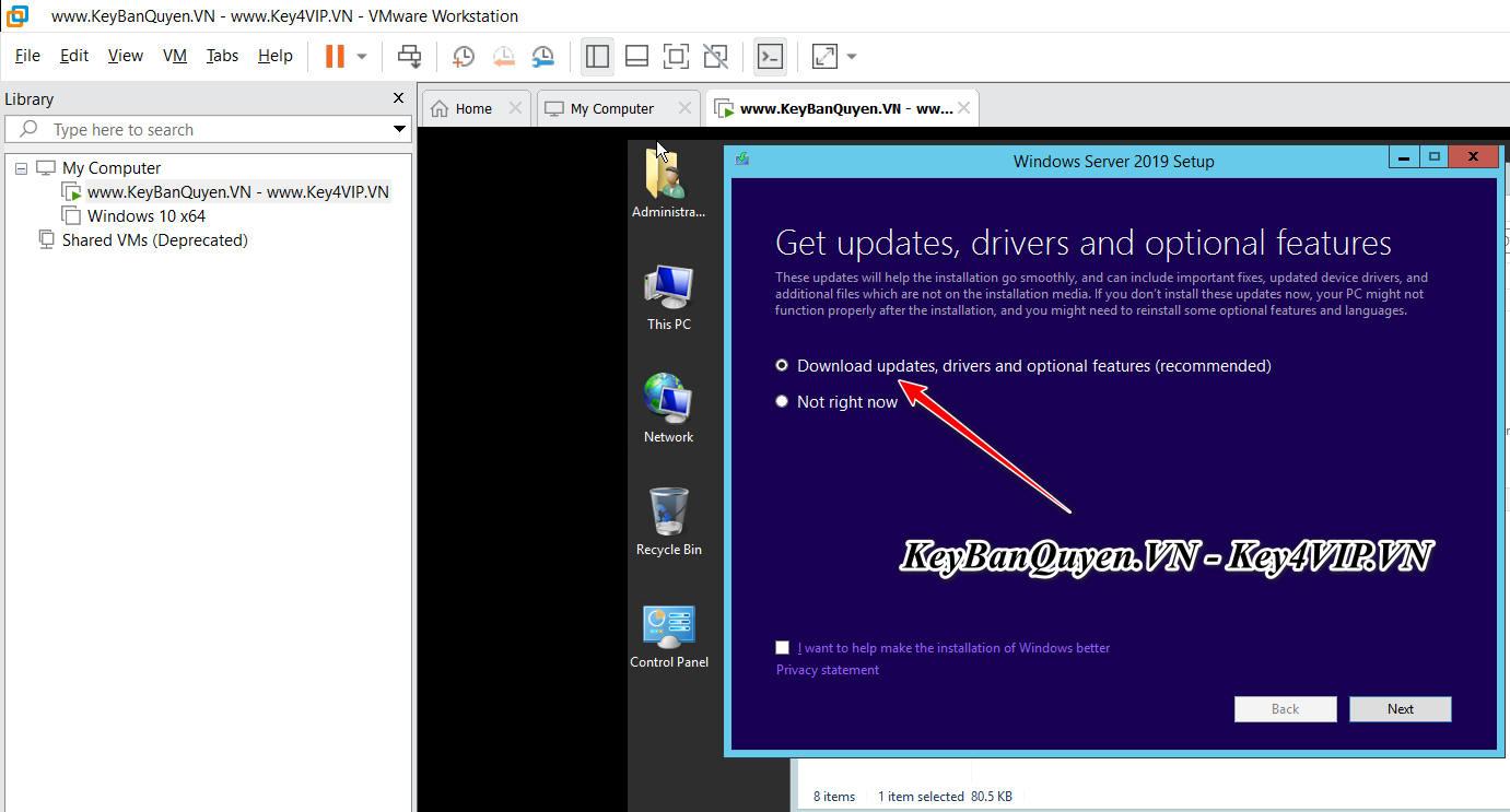 Hướng dẫn nâng cấp Windows Server 2012 và R2 lên Windows Server 2016 , Windows Server 2019 với Key Bản Quyền.