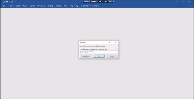 Word_File_par_Password_Kaise_lagaye_Step_8