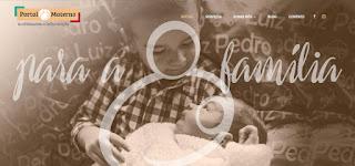 Website para Portal Materno por Minuta Linguagem Visual