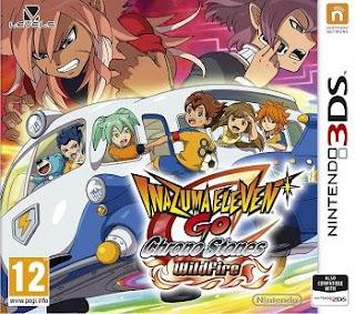 Inazuma Eleven GO Chrono Stones Llamarada, 3DS, Español, Mega, Mediafire