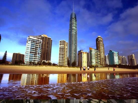 Prédios mais altos de cada continente - Q1 Tower
