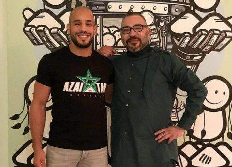 مراقبون : علاقة مشبوهة تجمع العاهل المغربي وبطل في فنون القتال مسجل سوابق في ألمانيا.