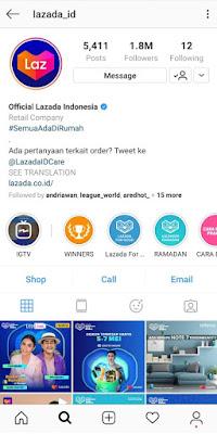 Instagram Lazada Indonesia (@lazada_id)