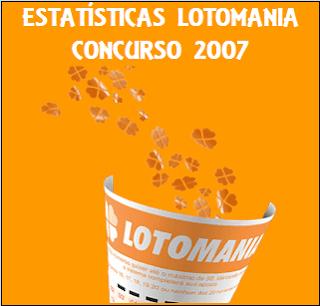 Estatísticas Lotomania 2007 Análises E Comportamento Das