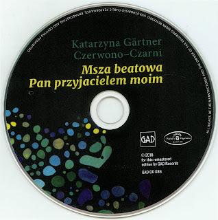 Czerwono Czarni&Katarzyna Gartner - Msza beatowa, Pan przyjacielem moim (1968) f