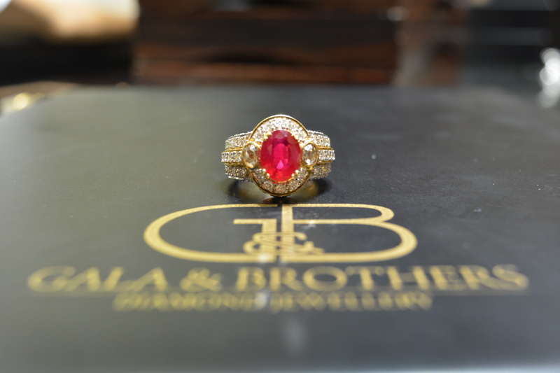 Gala Brothers Bridal Diamond jewellery indian blogger