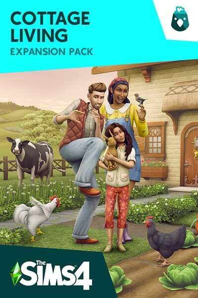 โหลดเกมส์ [Pc] The Sims 4: Cottage Living   ใช้ชีวิตชนบท