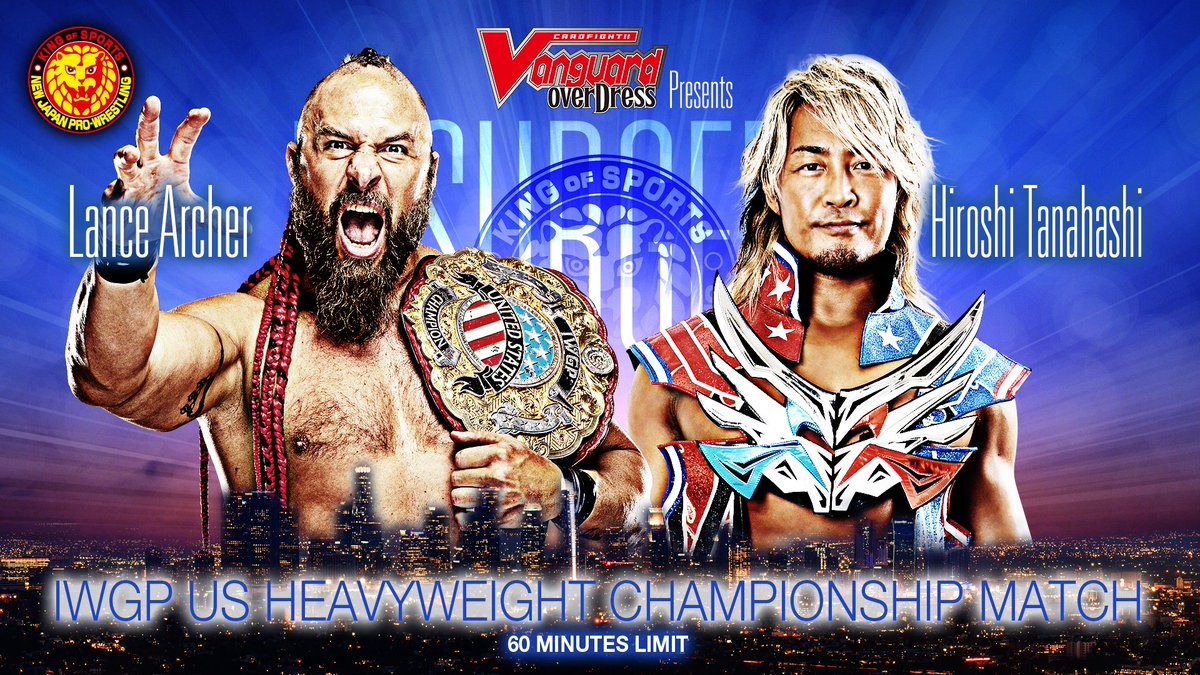Lance Archer vs. Hiroshi Tanahashi acontecerá no NJPW Resurgence
