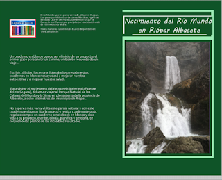 Notebook del nacimiento del río Mundo en Riópar Albacete