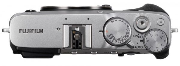 Fujifilm X-E3, вид сверху