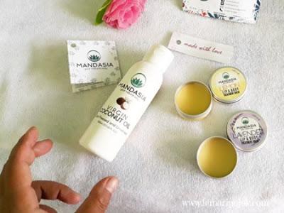 Mandasia VCO dan Lip and Body Treatment Balm Menjaga Kecantikan dan Kesehatan secara Alami