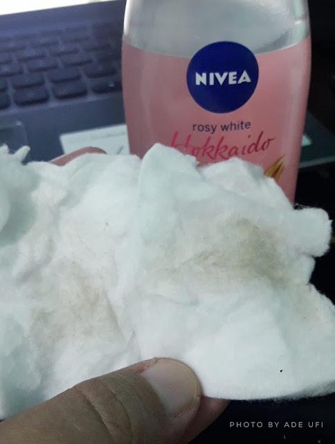 serum antioksidan dalam Nivea Hokkaido Rose Series
